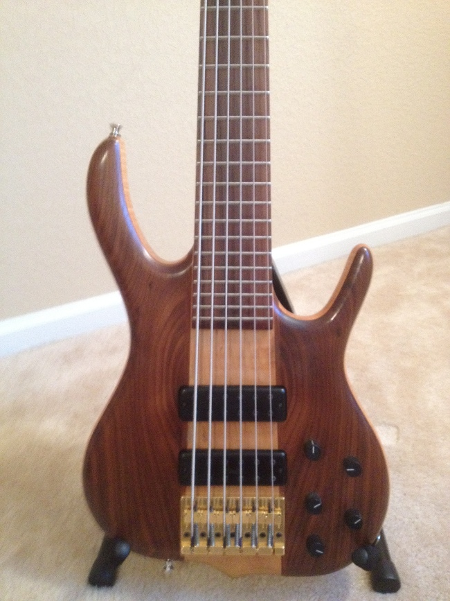 Picture of bass guitar - Ken Smith 6MW