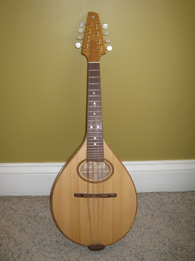 Picture of mandolin - Hand Made Manolin