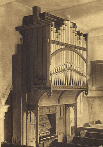 Picture of organ - The Thomas Hardy Organ