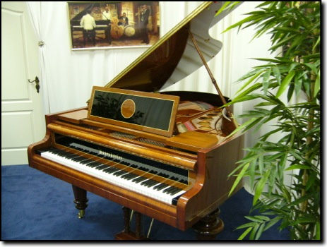 Picture of piano - Bosendorfer model 1926, serial # 23864, 188cm or 6ft 2in long