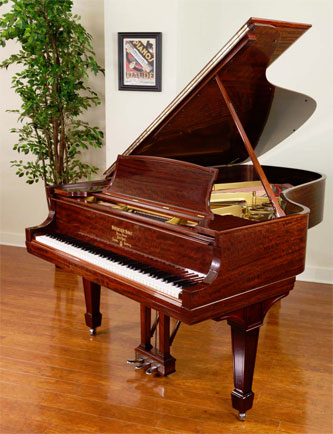 Picture of piano - Steinway B 1922 African Mahogany