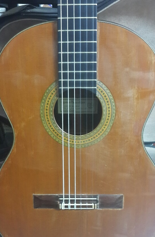 Picture of acoustic guitar - Fleta 1969