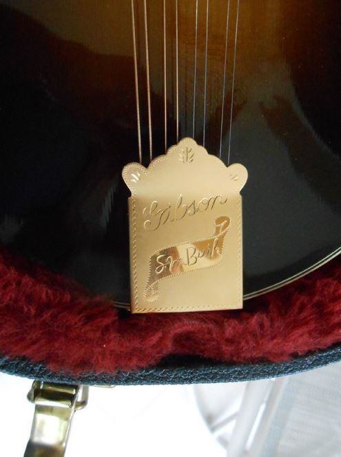 Picture of mandolin - Gibson Sam Bush F 5 Mandolin