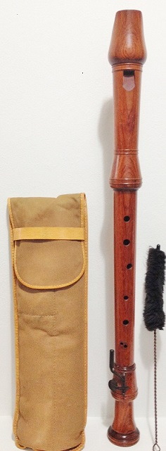 Picture of recorder (woodwind instrument) - Kung Classica Tenor Recorder,Swiss made, Bubinga wood, (Kueng /Küng)
