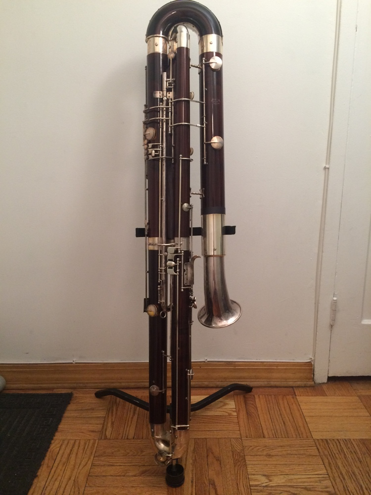 Picture of bassoon - Mollenhauer Contrabassoon