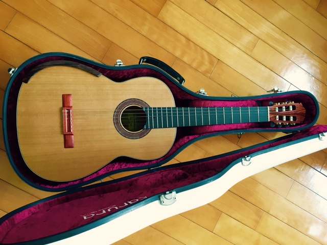 Picture of acoustic guitar - 2008 Greg Smallman and Sons