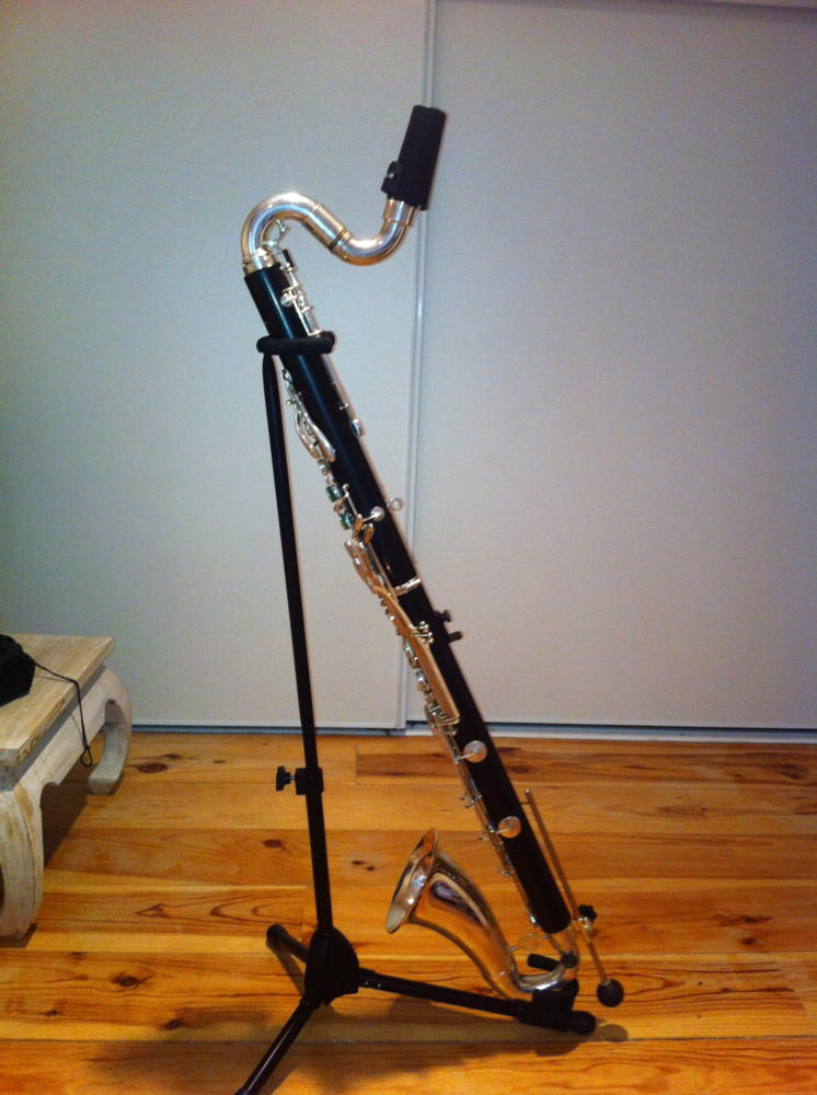 Picture of bass clarinet - Bass Clarinet Buffet crampon1183 Greenline