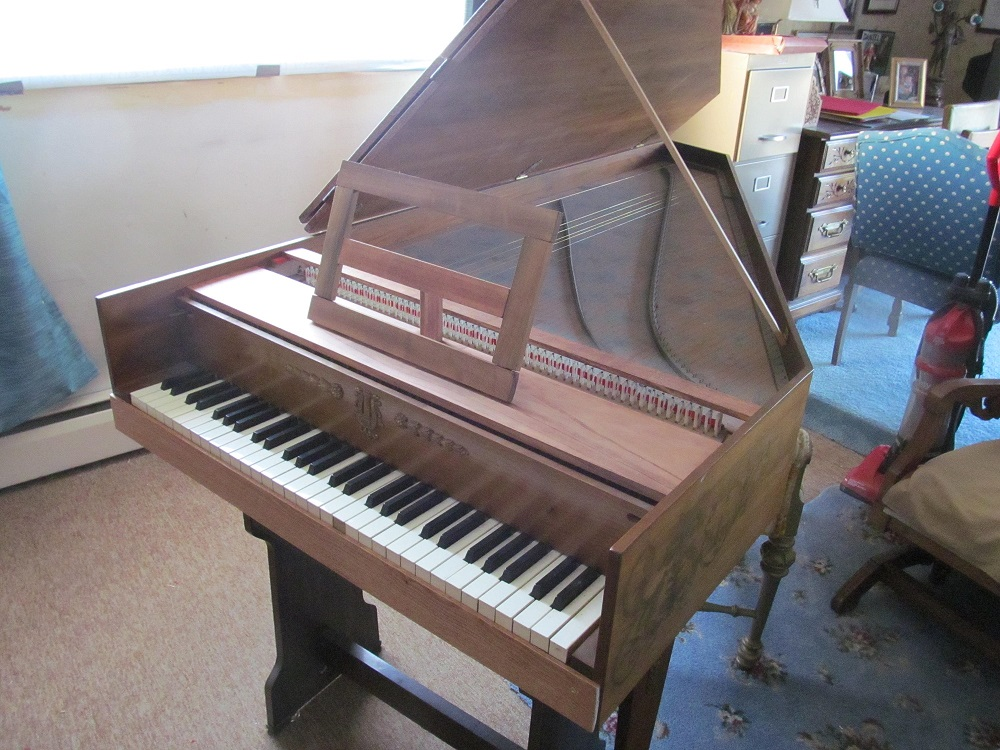 Picture of harpsichord, clavichord - Harpsichord old Zuckermann 24 hours left