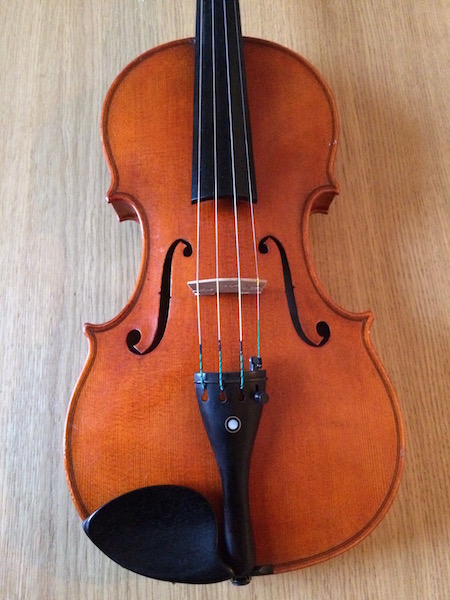 Picture of violin - Erich Werner violin 1983