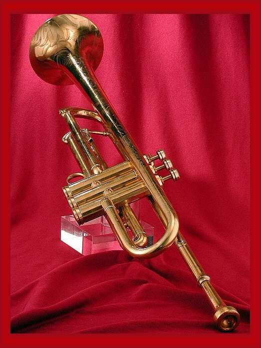 Picture of trumpet - Conn Olds Bach Selmer King Besson Benge; year: VIntage